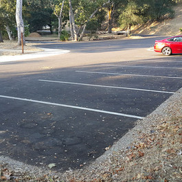 New parking area