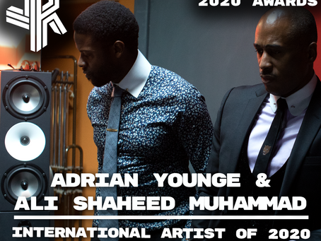 International Artist of 2020- Jazz Revelations Awards 2020