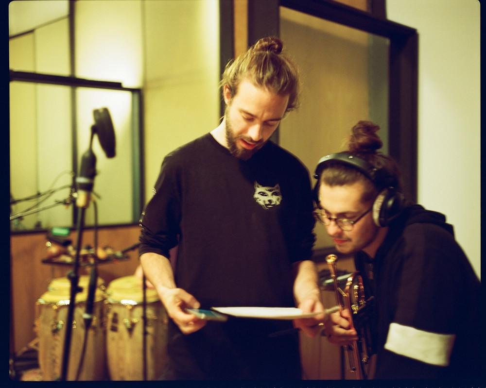 Jake Long and Axel Kaner-Lidstrom- credit Elaine Groenestein