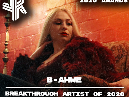 Breakthrough Artist of 2020 - Jazz Revelations Awards 2020