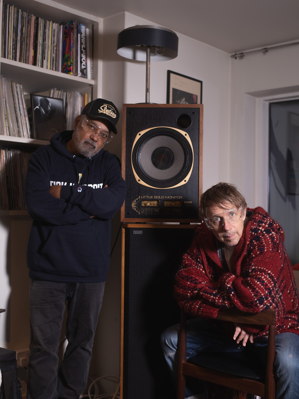 Bluey and Gilles Peterson | Credit: Casey Moore