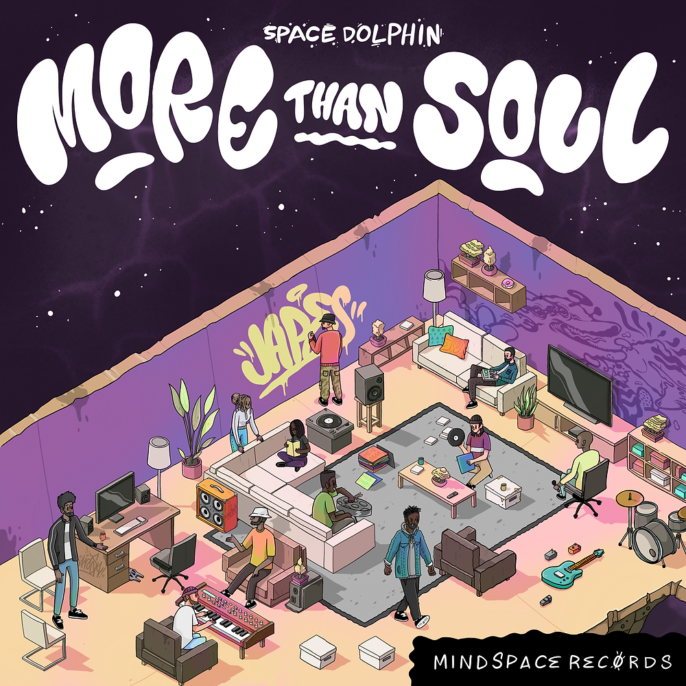 Space Dolphin - More Than Sould - Mindspace Records