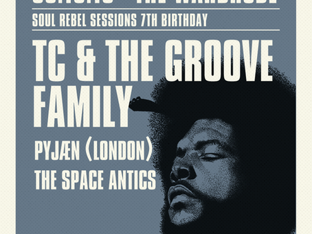 Soul Rebels Sessions 7th Birthday: Preview
