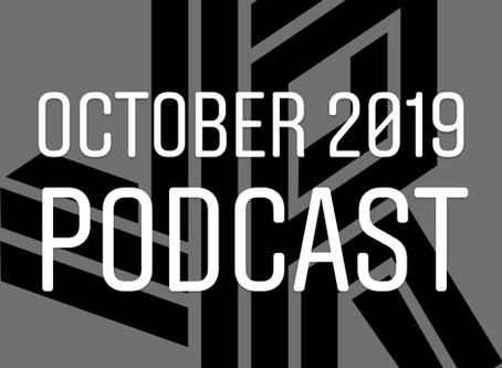 October 2019 JR Podcast now online!