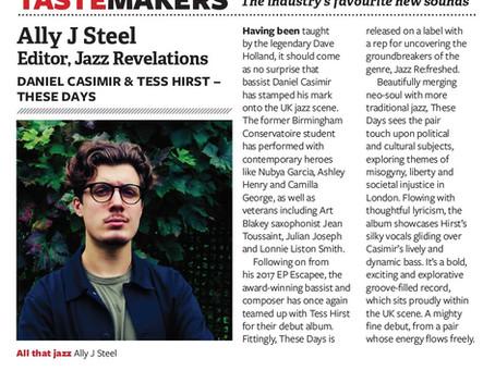 """Music Week """"Tastemakers"""" Feature"""