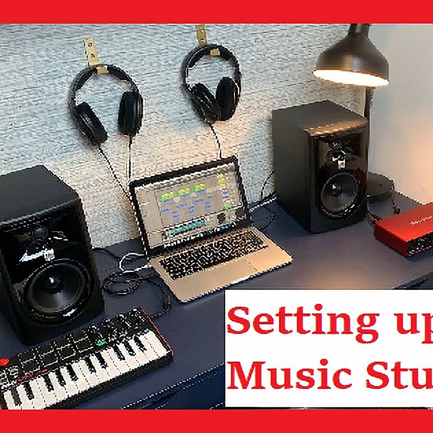 Fall Workshops - Setting Up a Music Studio with Liam Flello