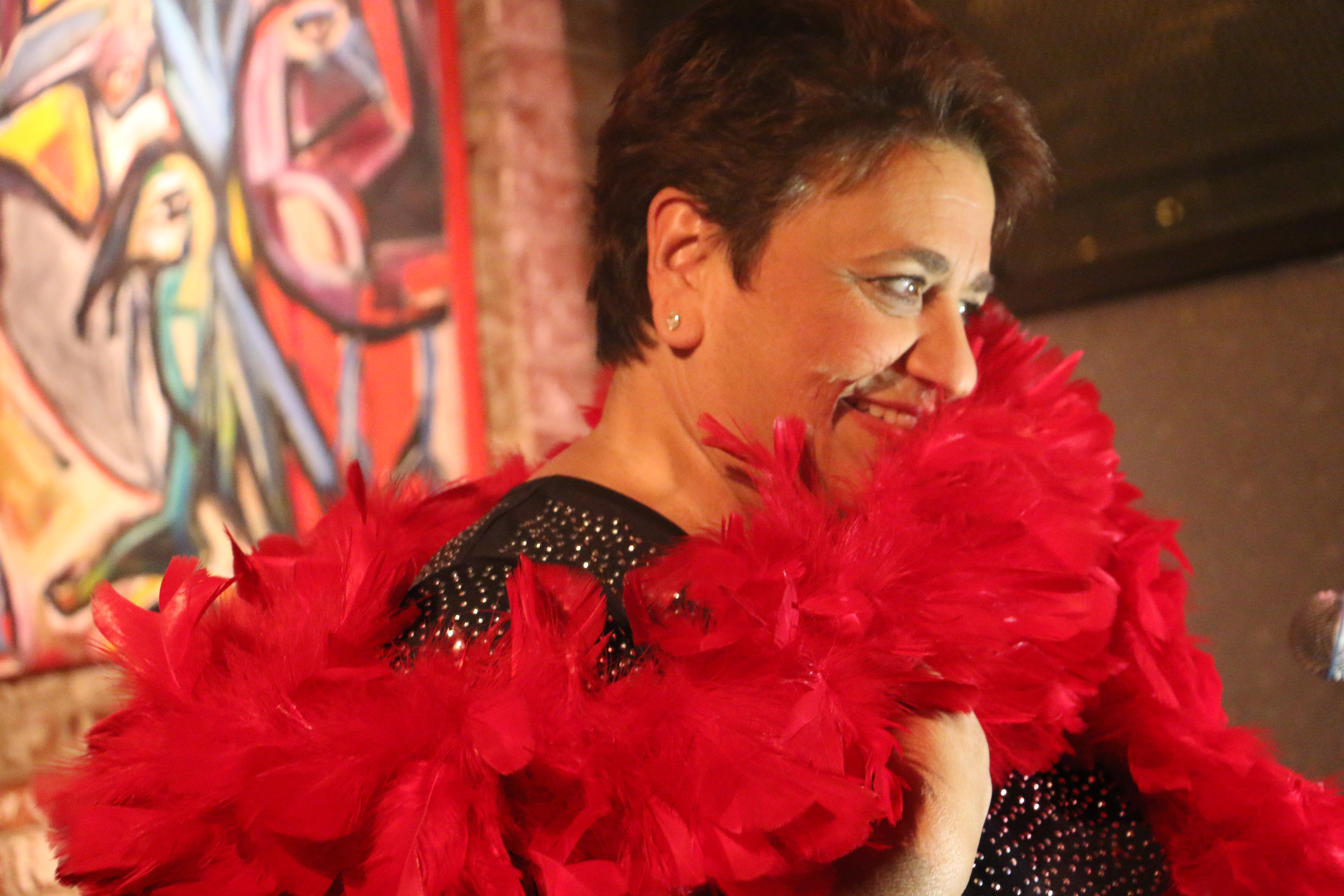 Pastore, Cabaret on stage