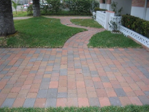 Old Miami Paver Dark Orange- Tan- Charco