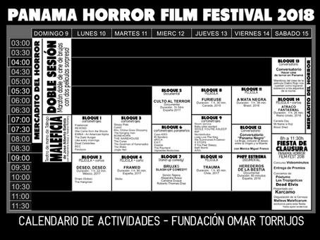 Programación del Festival