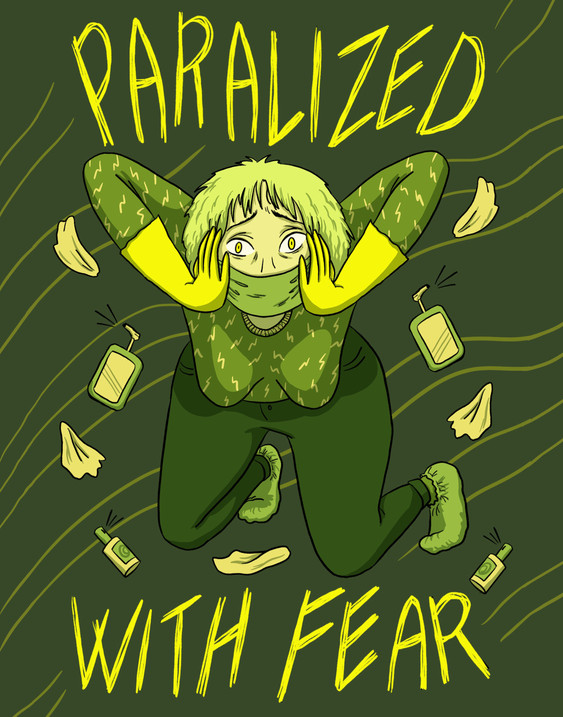 Paralized with fear