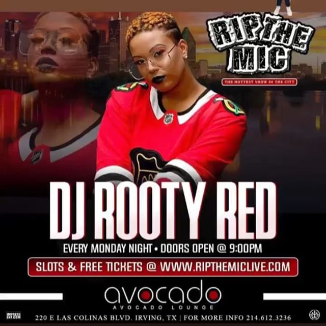 We lit every Monday at the Avocado Loung