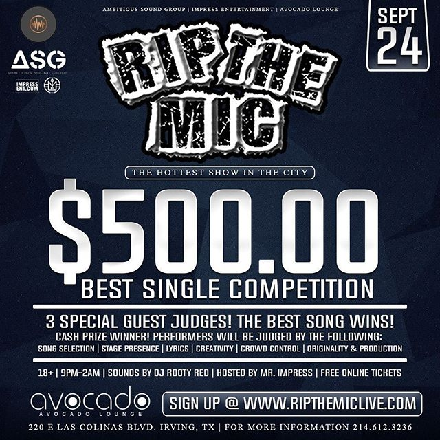 [September 24] _ripthemiclive $500 Best