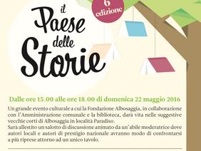 """Festival della Letteratura """"IL PAESE DELLE STORIE"""""""