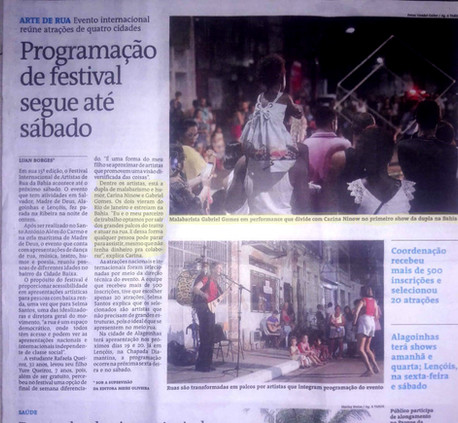 Gomesninow at the Newspaper A Tarde
