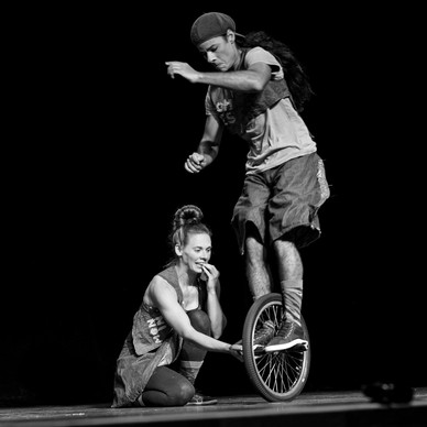 BMX flatland em duo