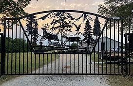 Custom Scenery Driveway / Enty Gates