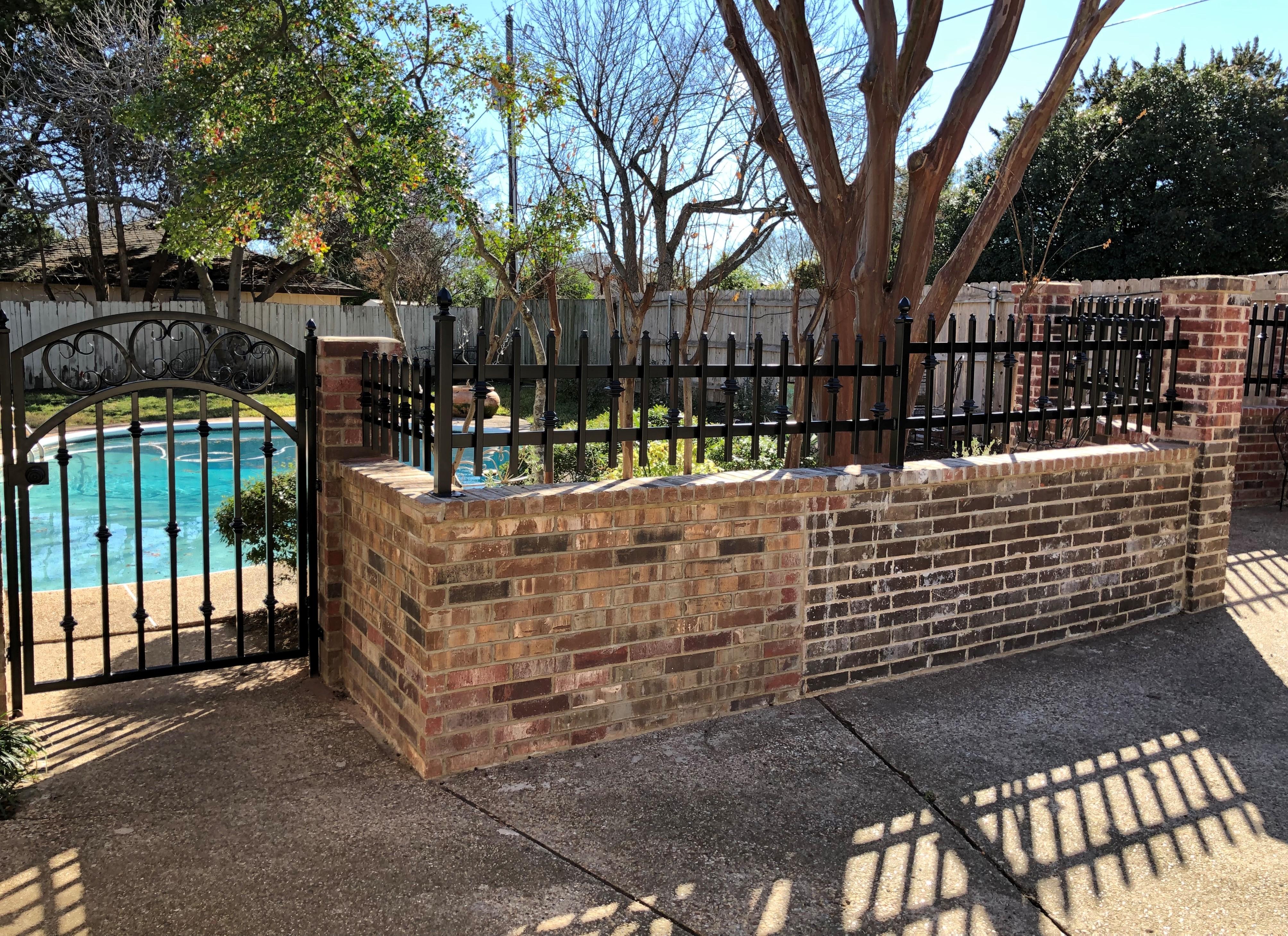 Garden Gate w/ Fence