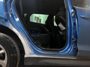 покраска автомобиля Синий цвет Hyundai TUCSON