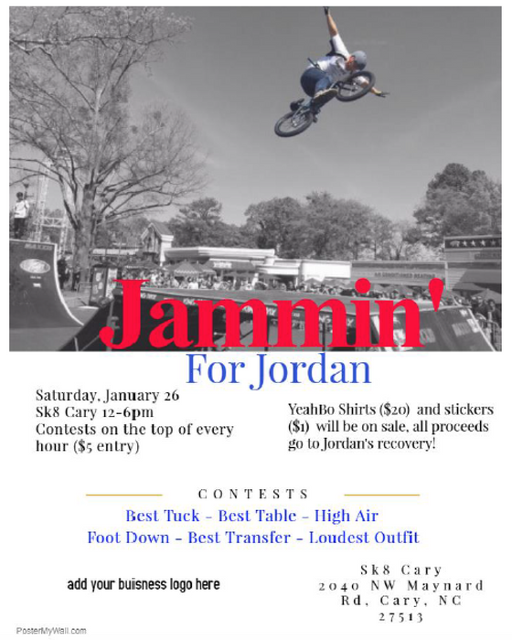 Jammin for Jordan!