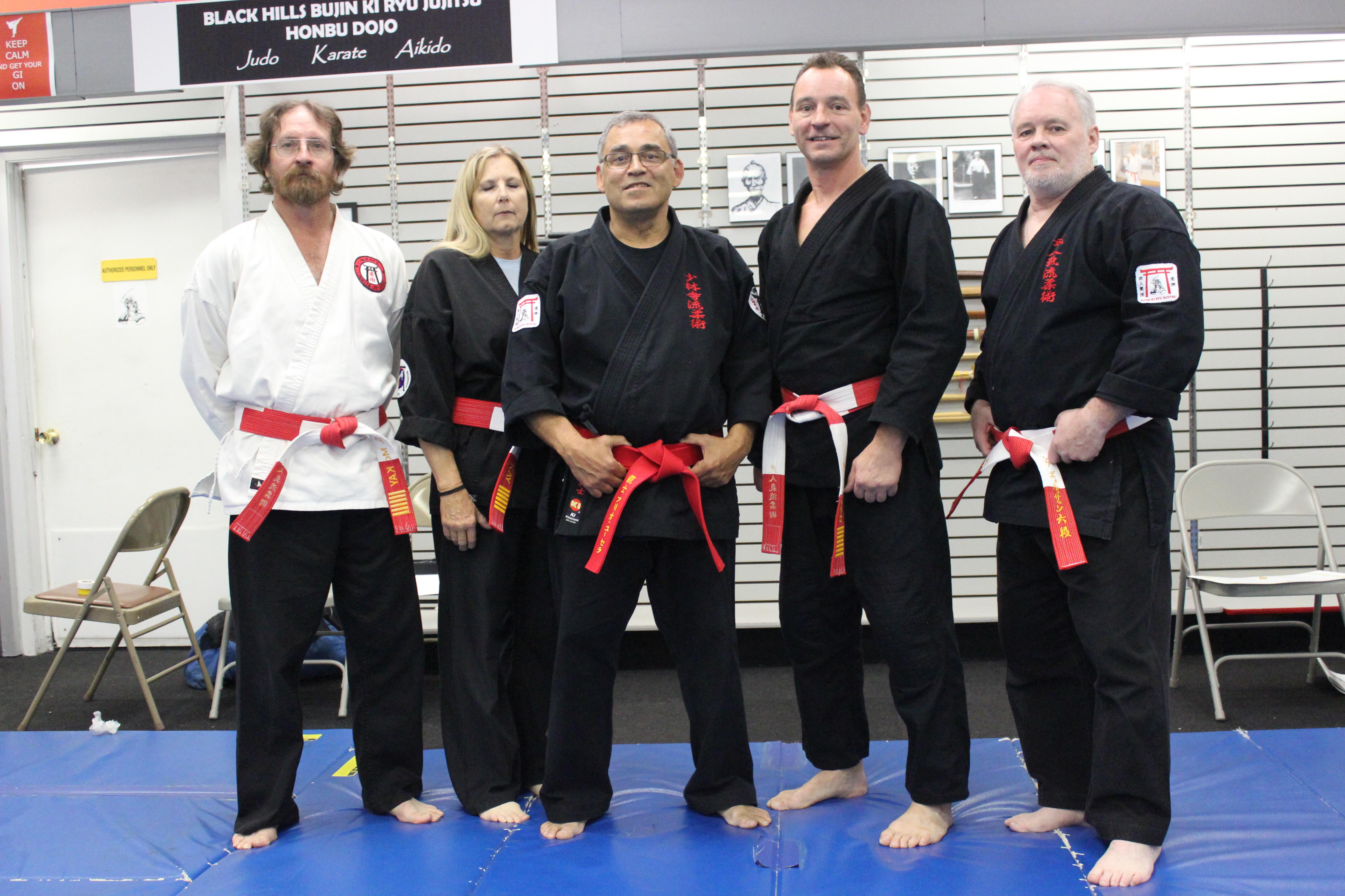 Master Instructors of Jujitsu