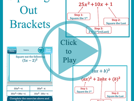 Squaring Out Brackets