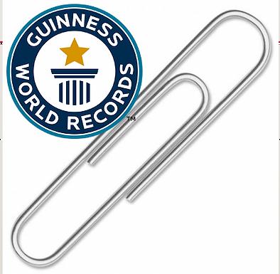 Paper Clip World Record