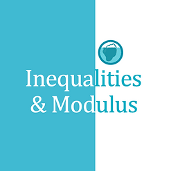 Inequalities & Modulus