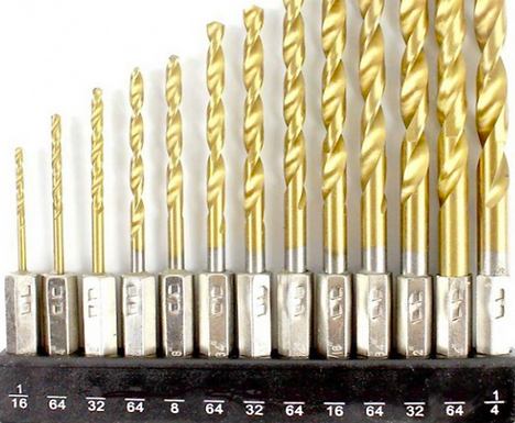 Drill Bit Fractions