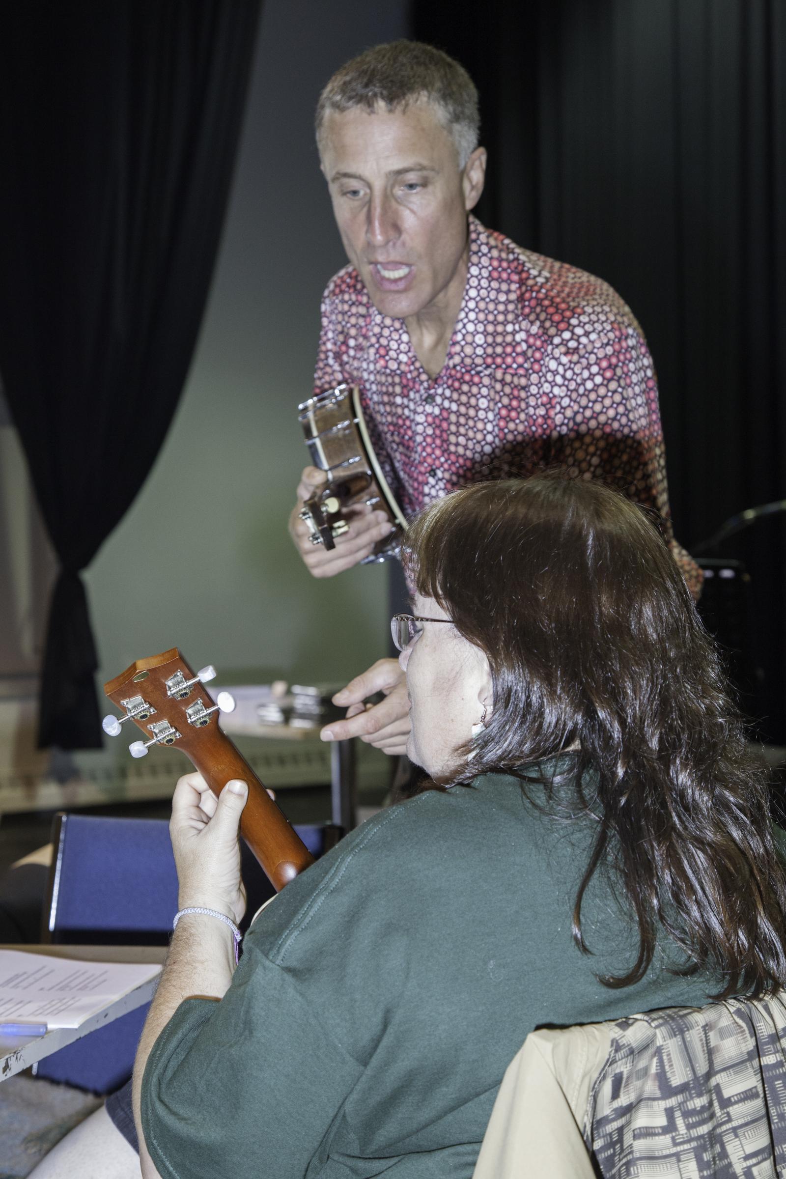 Ralph Shaw teaching