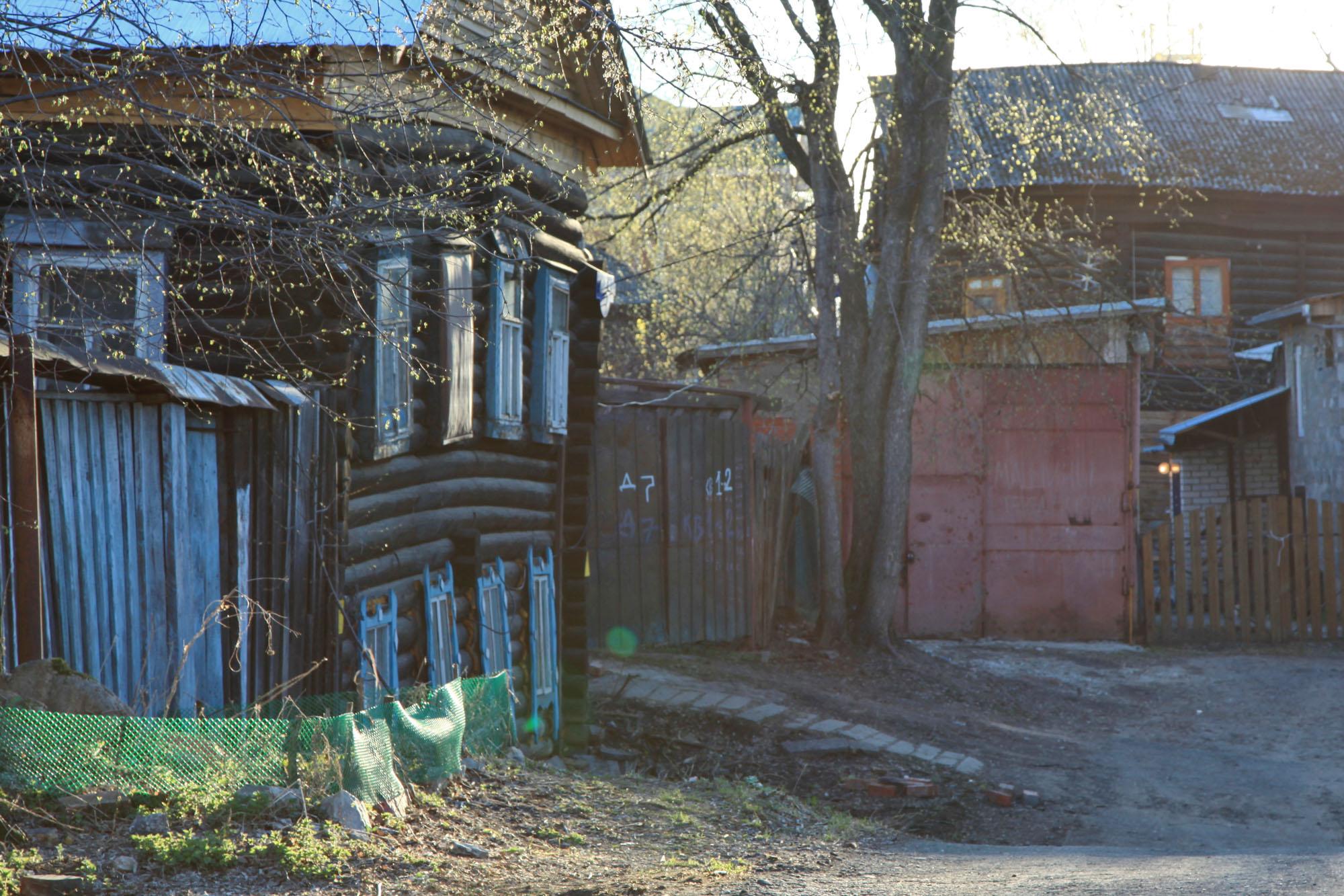 Пермский дворик