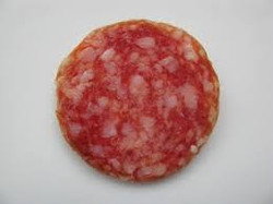 brauner rand -Salami