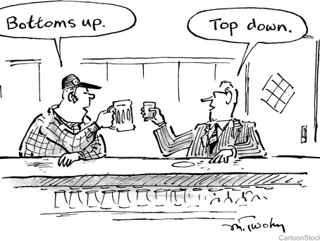 Bottom-Up vs. Top-Down Change