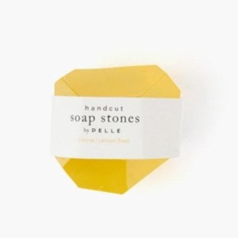 Soap nugget  Citrine Lemon/Basil 2oz