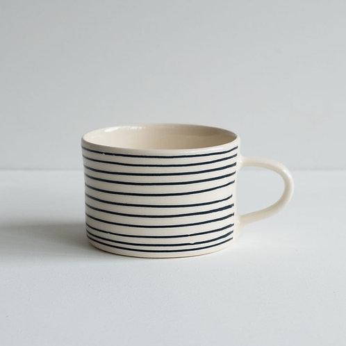 Musango striped mug color Graphite