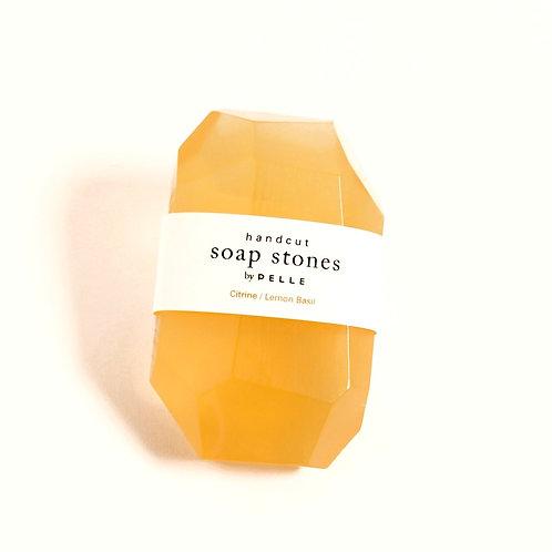 Soapstone Citrine Lemon/Basil 6oz - Stone