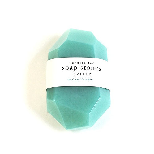 Soap nugget  Sea Glass/Pint Mint 2oz