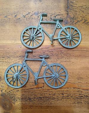 Hanging bicycle hooks