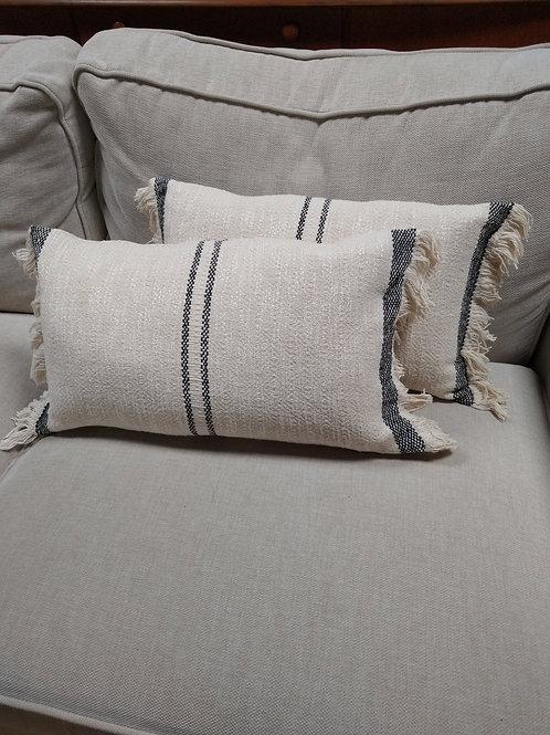 Slate Stripe Cushion