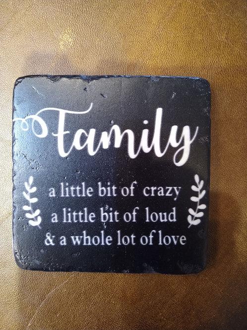 'Family' Coaster