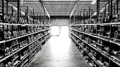 Zoom Background #8 Industrial Warehouse