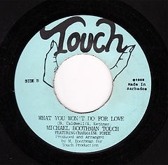 Michael Boothman_Touch Single_Label Cove