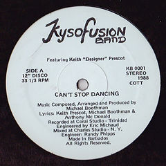 Michael Boothman_Kysofusion Band_Cant St