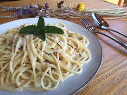 Creamy Spaghetti with Tuna