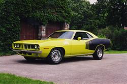 1971 Plymouth Hemi Barracuda