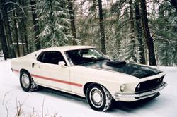 1969 Mustang 428 Cobra Jet