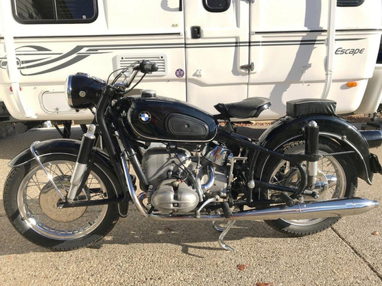1963 BMW  RS69S Motorcycle