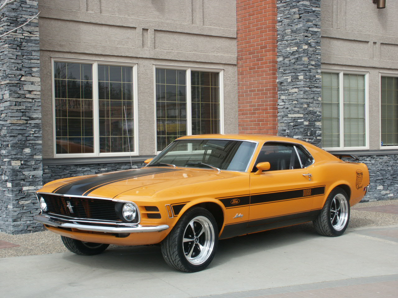 1970 Mustang Twister