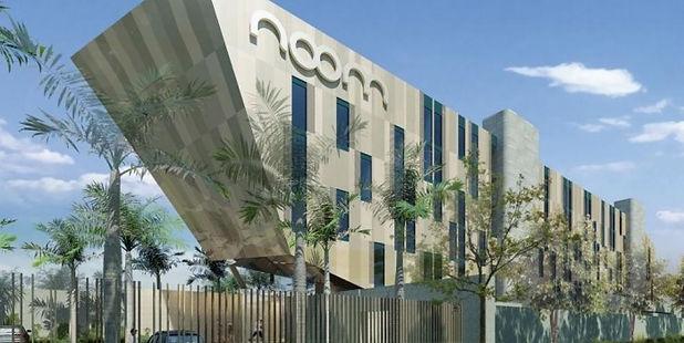 Noom Hotels Exterior Branding