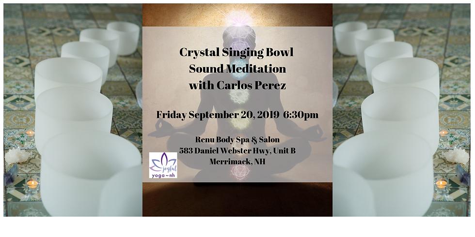 Crystal Singing Bowl Meditation