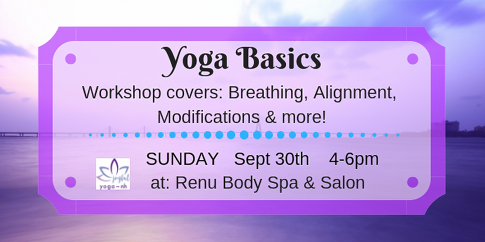 Yoga Basics Workshop